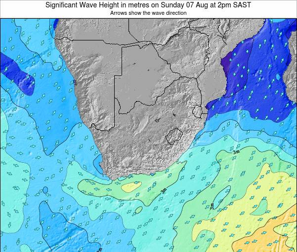 http://www.surf-forecast.com/maps/South-Africa/significant-wave-height/6